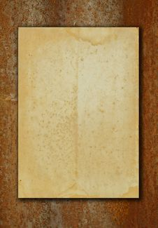 Free Texture Of Old Paper Royalty Free Stock Images - 19274549