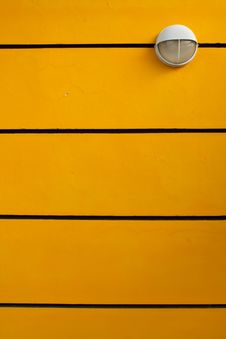 Free White Light On The Wall, Yellow, Black. Stock Photography - 19275052