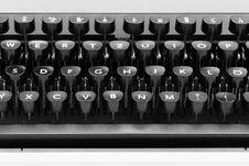 Free Typewriter Keys Stock Image - 19275111