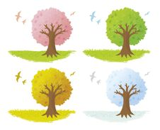Free Tree Of Crayon Royalty Free Stock Images - 19275679