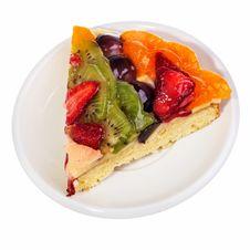 Free Fruit Pie Segment. Stock Photos - 19275783