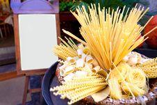 Free Italian Pasta Royalty Free Stock Image - 19276346
