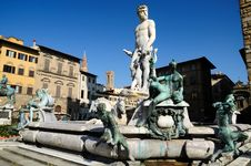 Free Fountain Of Neptune Stock Image - 19276371