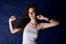 The Beautiful Mystical Women Stock Photos