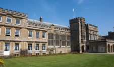 Forde Abbey In Dorset Stock Image