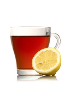 Free Cup Of Tea With Lemon Royalty Free Stock Photo - 19279405
