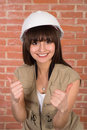 Free Pretty Girl In A Helmet Royalty Free Stock Photos - 19289248