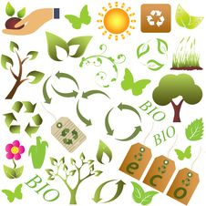 Free Eco And Environment Symbols Stock Photo - 19280500
