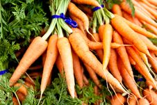 Free Bunch Of Carrots Stock Image - 19280771