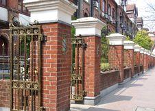 Free Residence Buiding Fence Stock Photo - 19281710