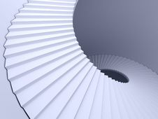 Free Abstract Spiral Staircase Stock Photo - 19281860