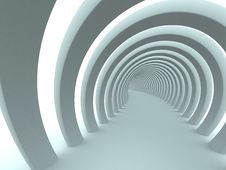 Abstract Tunnel Background Royalty Free Stock Photo
