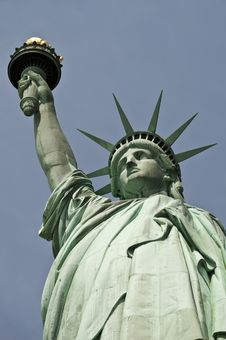Free Statue Of Liberty Royalty Free Stock Photos - 19282038