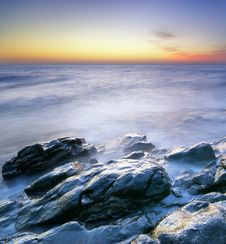 Free Beautiful Seascape. Royalty Free Stock Photography - 19282347