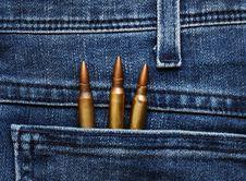 Free Three Bullets In The Pocket Stock Photos - 19282413