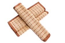 Free Two Bamboo Napkins Stock Photos - 19282533