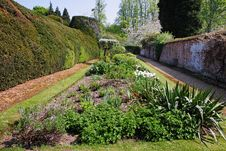 Free An English Walled Garden Royalty Free Stock Photography - 19282617