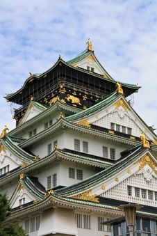 Free Osaka Castle Royalty Free Stock Photos - 19283108