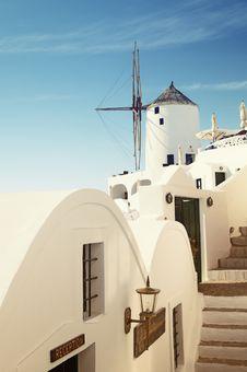 Santorini, Greece. Royalty Free Stock Images