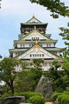 Free Osaka Castle Stock Image - 19283251