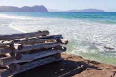 Beach At Marion Bay Stock Image