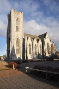 Free Cathedral, Reykjavik, Iceland Stock Photography - 19283732
