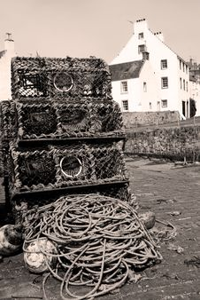 Crail,scotland Stock Photography