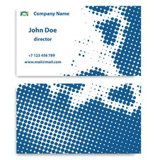 Free Business Card Royalty Free Stock Photo - 19284745
