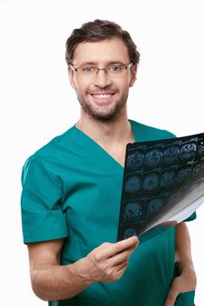 Free Smiling Doctor Stock Photography - 19286012