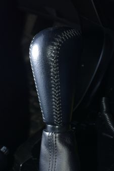 Free Car Gearstick Royalty Free Stock Image - 19286176