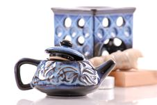 Free Fancy Oil Burner Kettle Stock Photos - 19288363