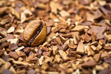 Free Coffee Bean And Soluble Coffee Stock Images - 19288784