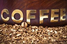 Free Coffee Bean And Soluble Coffee Stock Image - 19288911