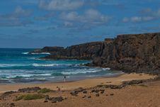Fuerteventura - Cotillo Beach Stock Photos