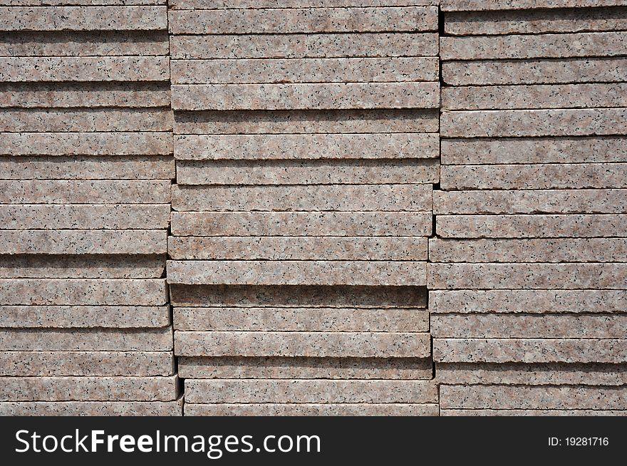 Bricks on site