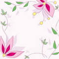 Free Floral  Wallpaper Stock Photo - 19295600
