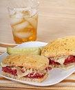 Free Corned Beef Sandwich Royalty Free Stock Image - 19297266