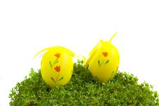 Free Easter Eggs Royalty Free Stock Images - 19290139