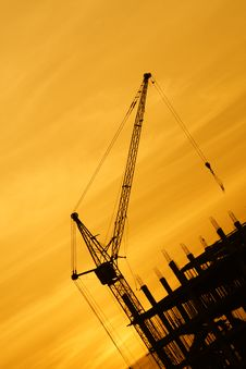 Free The Crane Royalty Free Stock Photography - 19291257