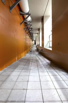Free A Long Hallway. Stock Photos - 19292203