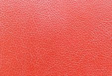 Free Red Leather Royalty Free Stock Photography - 19292837