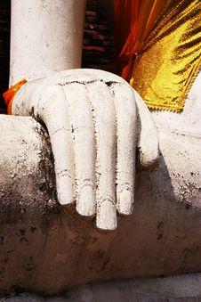 Free Hand Of Buddha Royalty Free Stock Image - 19292846