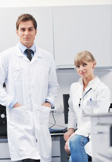 Free Science People In Bright Lab Stock Photos - 19292943