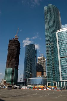 Building In Moscow-City Royalty Free Stock Image