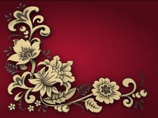 Free Floral Background. Royalty Free Stock Photo - 19295065