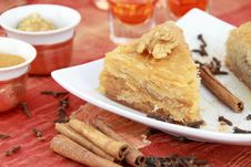 Free Baklava Stock Photography - 19295472