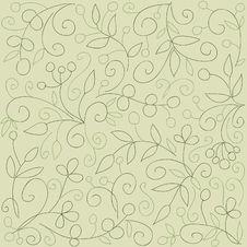 Free Floral Seamless Wallpaper Royalty Free Stock Photos - 19295598