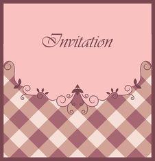 Free Nice Purple Invitation Stock Photos - 19295603