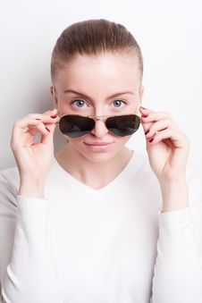 Free Woman In Sunglasses Stock Photos - 19296233