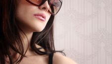 Free Sexy Woman In Sunglasses Stock Photos - 19296503